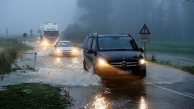 Las inundaciones siguen subiendo en el oeste de Europa y los muertos superan los 120