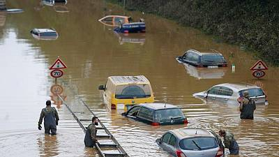 German, Belgian flood deaths rise to 157 as search continues