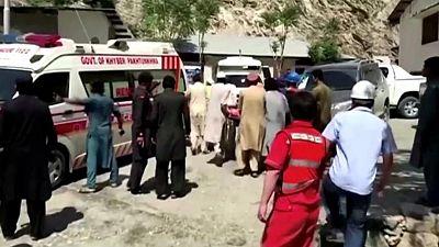 Chinese investigators visit site of Pakistan bus blast