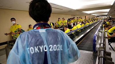 El primer caso de COVID en la villa olímpica de Tokio eleva la presión sobre el COI