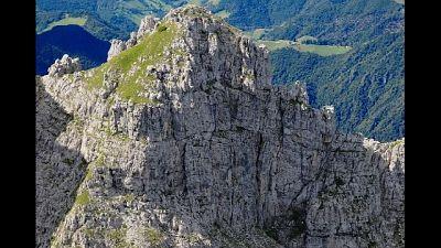 E' accaduto in Valsassina, stava scalando lo Zucco Barbesino