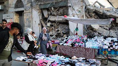 After war with Israel, a grieving Gaza marks Eid Al-Adha holiday