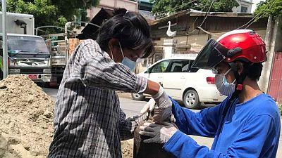 COVID response runs underground in junta-ruled Myanmar