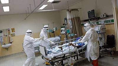 Indonesia reports record number of doctor deaths from COVID-19 in July