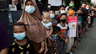 إندونيسيا تسجل زيادة قياسية في وفيات كورونا بلغت 1338