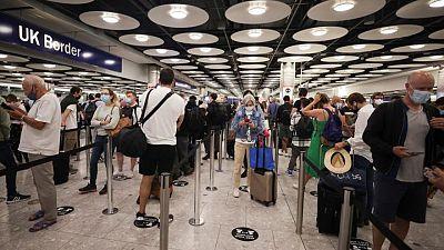 British travel rule havoc hits airline stocks