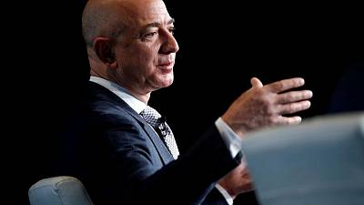 Jeff Bezos, world's richest man, set for inaugural space voyage