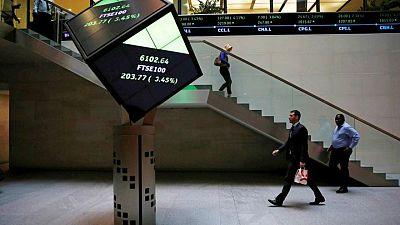 Energy stocks, banks push FTSE 100 higher as virus fears persist