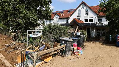 Flood-hit Germany wants EU help to rebuild infrastructure - draft document