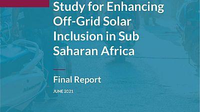 Intensification du déploiement de l'énergie solaire hors réseau en Afrique : une étude de la BEI et de l'Alliance solaire internationale met en avant des solutions pour ouvrir l'accès à l'énergie à 120 millions de ménages