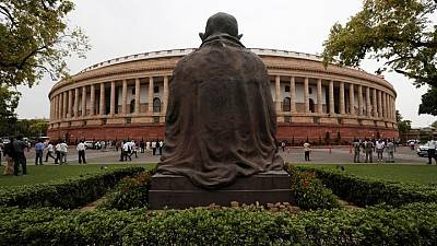 Indian opposition disrupts parliament, seeks probe into Pegasus