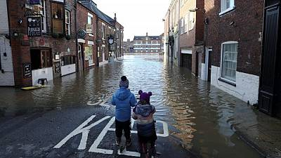 British homes, businesses unprepared for climate change, Aviva says