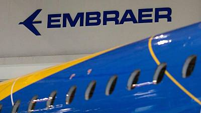 Brazil's Embraer delivers 34 jets in Q2, returns to pre-pandemic levels
