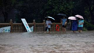 China orders immediate review of subway flood controls as rains continue