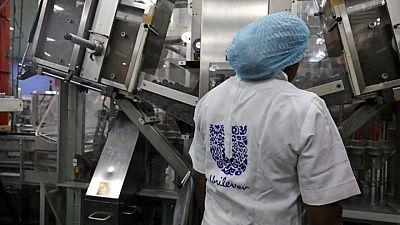 Unilever second quarter underlying sales rise 5%, beats estimates