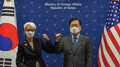 كوريا الجنوبية: أمريكا تأمل في رد بيونجيانج على عرض استئناف المحادثات
