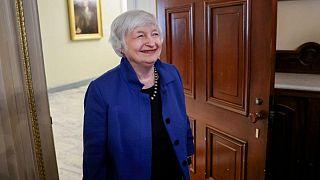 Yellen pide a bancos multilaterales que movilicen capital para combatir el cambio climático