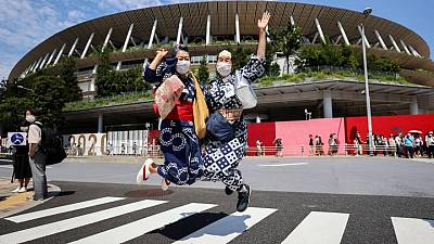 Olympics-Slimmed-down ceremony to open pandemic-hit Tokyo Games