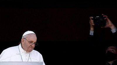 Pope to skip Sunday Mass but will make regular noon address - Vatican