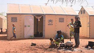 Le nombre des personnes forcées de fuir les violences en cours au Burkina Faso atteint un niveau sans précédent