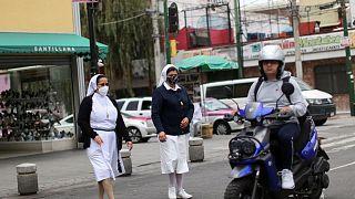 المكسيك تسجل 2690 إصابة جديدة بكوفيد-19 و128 وفاة