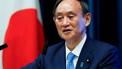 Olympics-Support for Japan's PM Suga slides as COVID shadows Tokyo Games