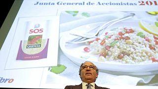 La española Ebro Foods vende negocios de Panzani a CVC en un acuerdo de 550 millones de euros
