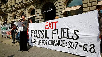 Hoaxers call time on Credit Suisse's fossil fuel financing