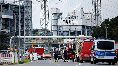 Una explosión sacude un polígono químico en el oeste de Alemania