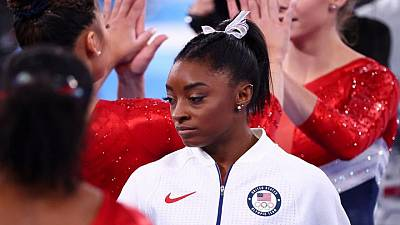 Tras un mal comienzo, el futuro de Simone Biles en los Juegos de Tokio es incierto