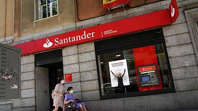 Spain's Santander books Q2 net profit of 2.07 billion euros