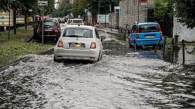 Le zone più colpite sono state le province di Pordenone e Udine