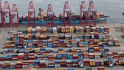 U.S. goods trade deficit widens; inventories rise