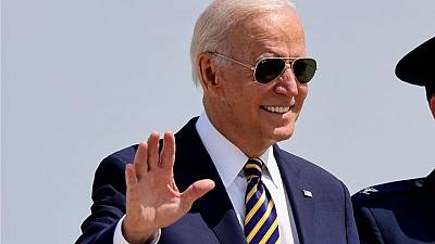 """Biden to tout tougher """"Buy American"""" rules in visit to Mack Trucks plant"""