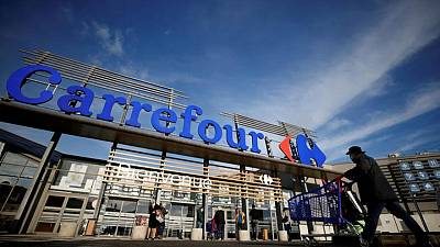 Carrefour unveils extra share buybacks as first-half core profit rises