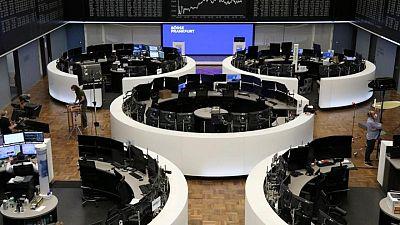 European shares slide from peak as Asian worries sour mood