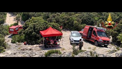 E' un 55enne friulano, auto ritrovata sul Supramonte di Baunei