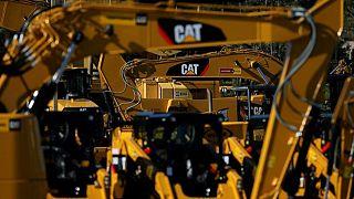 Ganancias de Caterpillar escalan por recuperación de demanda por equipos