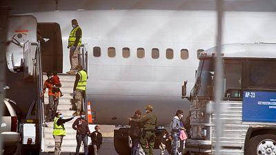 EEUU reanuda los vuelos de deportación acelerada de familias migrantes centroamericanas