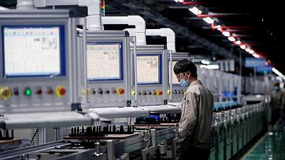 China's factory activity expands at a slower pace in July- official PMI