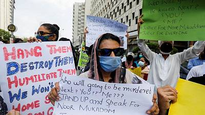 Grisly murder of diplomat's daughter sparks outrage over femicides in Pakistan