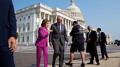 El Senado de EEUU trabaja durante el fin de semana en  proyecto de ley de infraestructuras