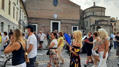 Poche centinaia dimostranti a Verona e Vicenza