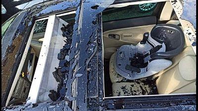 Auto con vetri rotti e capannoni 'bucati', 100 interventi vvff