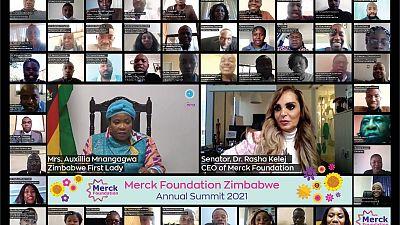 Merck Foundation CEO et la Première Dame du Zimbabwe ont coprésidé le Sommet Annuel de 2021 pour continuer à renforcer les capacités de soins de santé, briser la stigmatisation de l'infertilité et soutenir l'éducation des filles