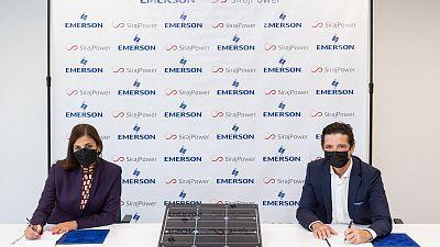 Emerson met en oeuvre un grand projet d'énergie verte au Moyen-Orient avec SirajPower