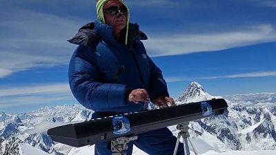 Sul Gasherbrum 2 il concerto più alto del mondo
