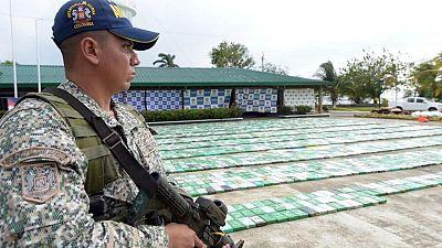 """Confiscan 116 toneladas de cocaína en operación multinacional """"Orión"""""""
