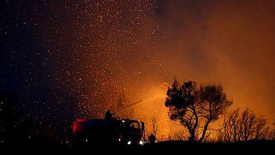"""El Mediterráneo se ha convertido en un """"foco de incendios"""", según científicos de la UE"""