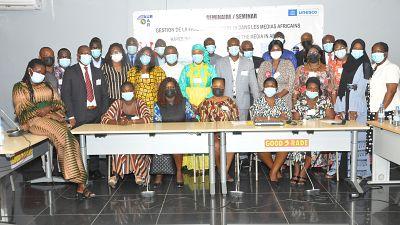 Seminaire de Renforcement de Capacites sur la «Gestion de la Pandemie de COVID19 dans les Medias Africains»